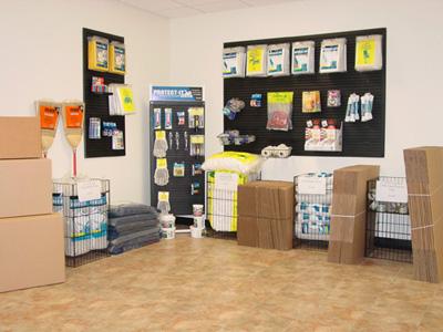 dak self storage supply store